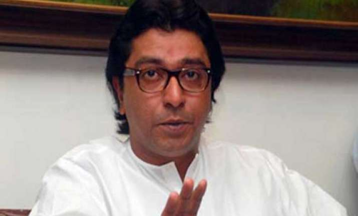 raj thackeray targets shiv sena congress supports modi