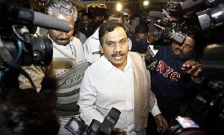 raja remanded to 4 more days of cbi custody