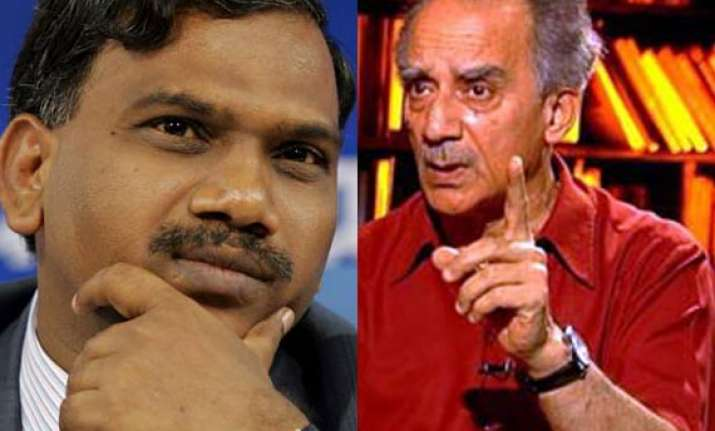 raja tries to drag shourie in 2g scam