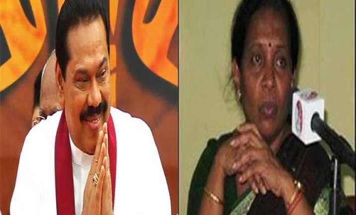 rajapaksa jaffna mayor to attend modi oath taking