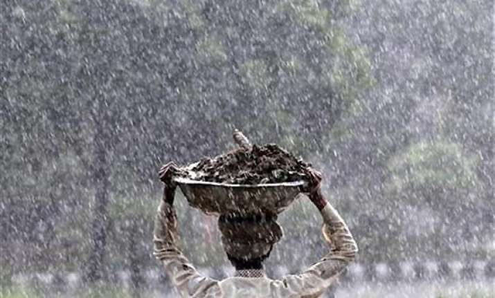 rajasthan receives light to moderate rainfall