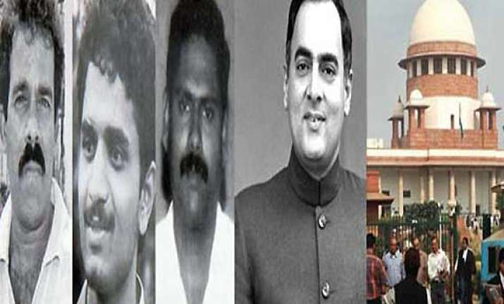 rajiv assassination case sc agrees to hear centre s plea on