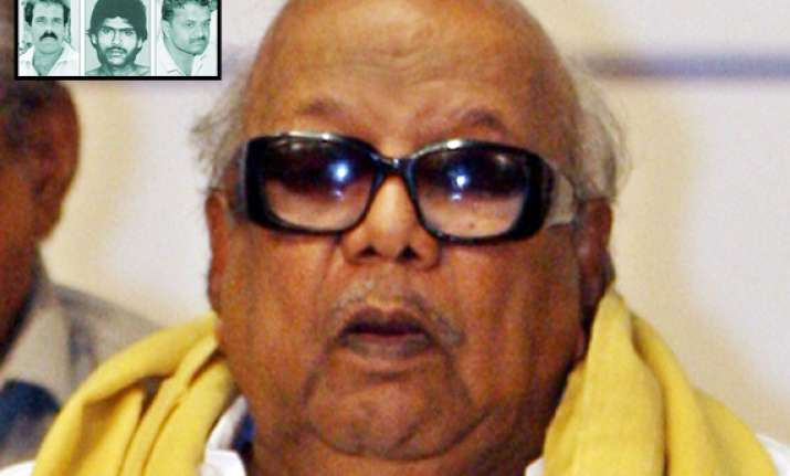 rajiv would have saved death row convicts says karunanidhi