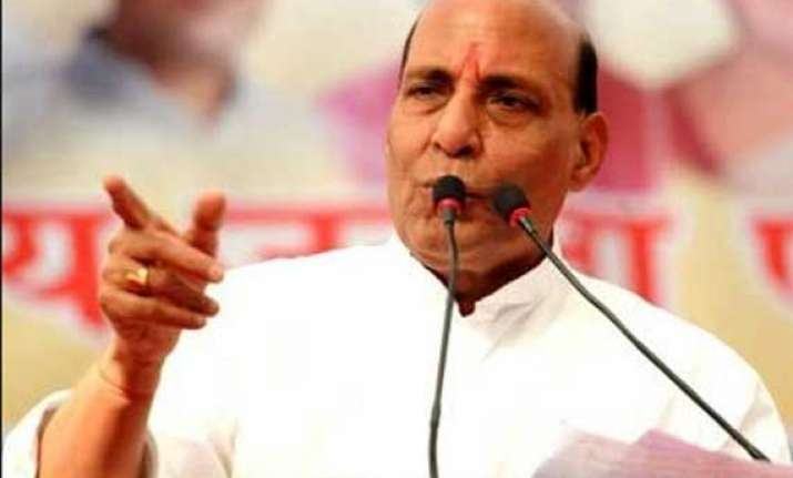 rajnath singh promises handsome package for west bengal