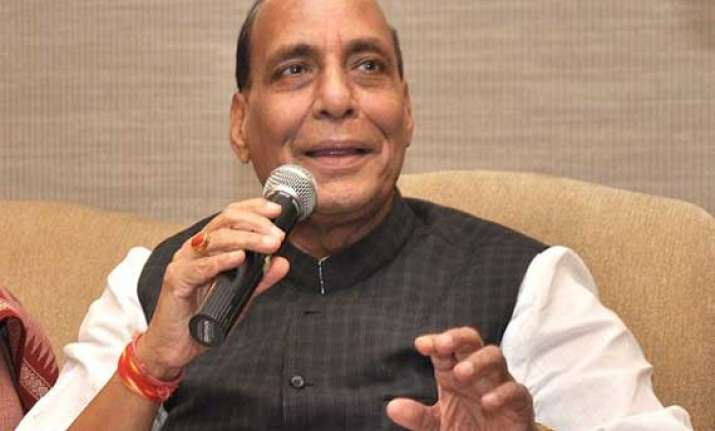 rajnath terms condition of indian economy as serious says