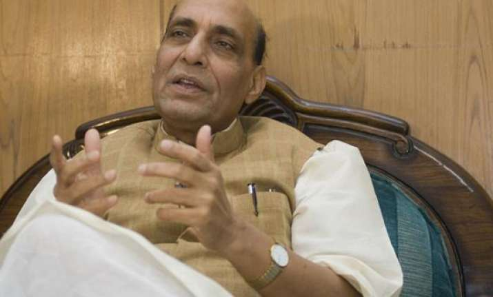 rajnath to address bjp electricity rally in delhi today