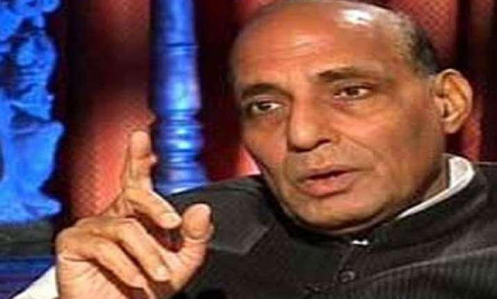 rajnath to flag off relief material for uttarakhand from
