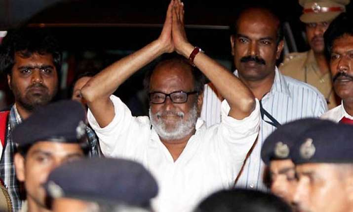 rajnikanth enquires about kanimozhi