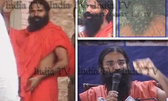 ramdev back to delhi days after crackdown at ramlila maidan