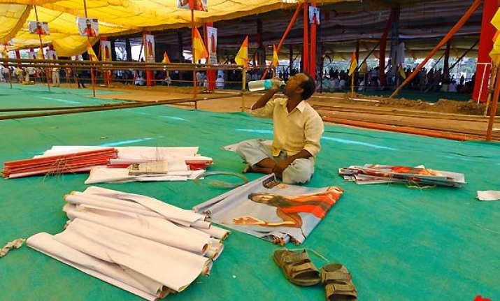 ramlila maidan all set for baba ramdev s protest fast