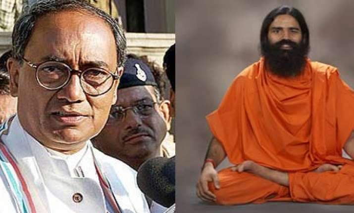 ramdev more of a businessman than a sanyasi says digvijay