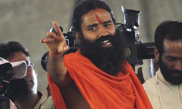 ramdev threatens to disclose names of two leaders having