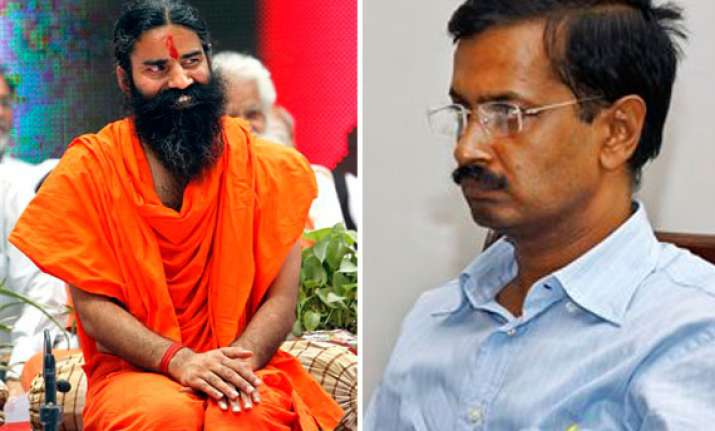 ramdev snubs arvind kejriwal disapproving his comments