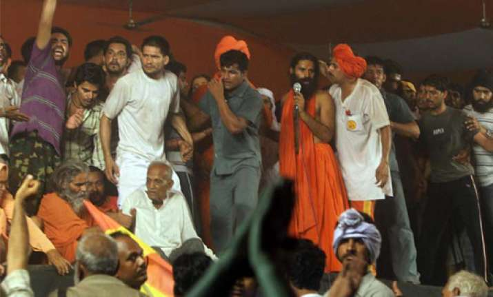 sc attacks state police for crackdown on ramdev followers