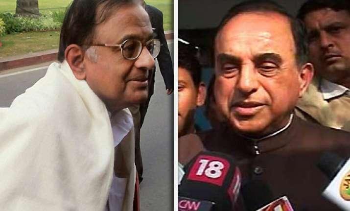 ramlila verdict swamy demands chidambaram s resignation