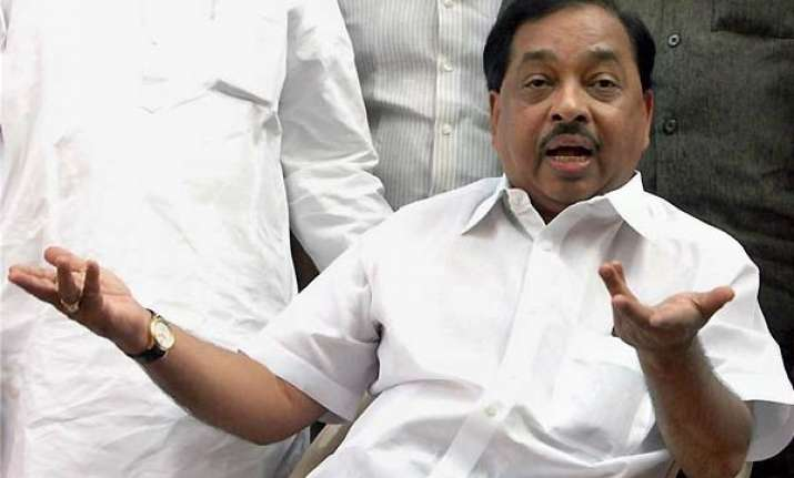 rane blames sena for instigating people at jaitapur