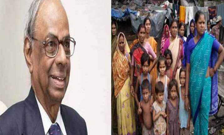rangarajan panel 3 out of 10 in india are poor