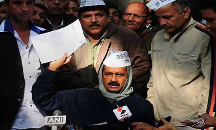 read what kejriwal wrote in his resignation to delhi lg