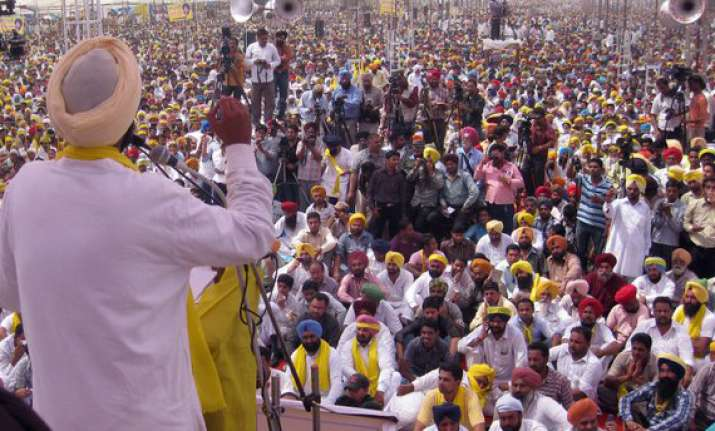 rebels to spoil the show in punjab