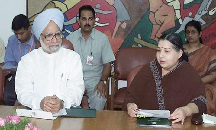 reconsider half baked reforms jayalalithaa to singh