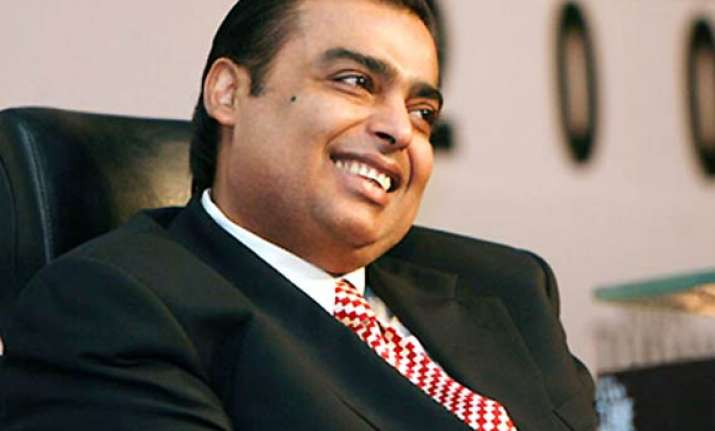 reliance to be debt free in fy12 says mukesh ambani