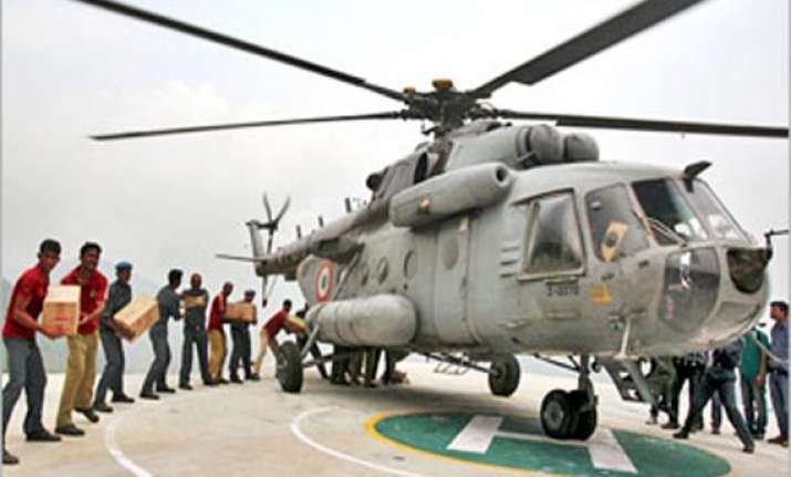 relief operations resume in uttarakhand as skies clear up