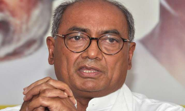 replace m for maya with d for development says digvijay