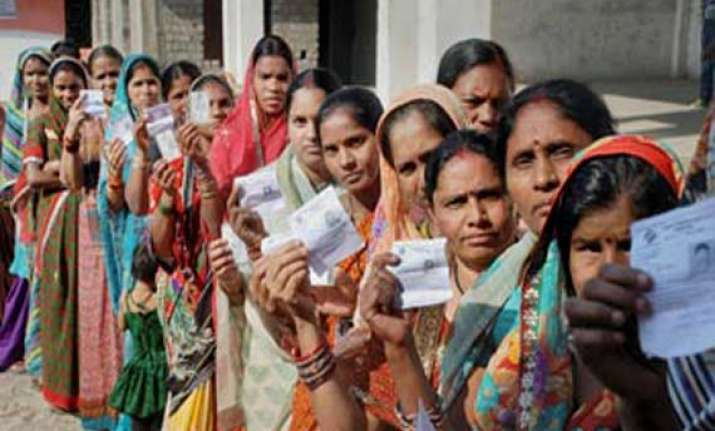 repolling in five booths in uttar pradesh