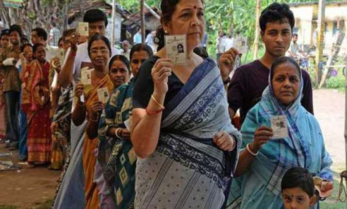 repolling peaceful in west bengal
