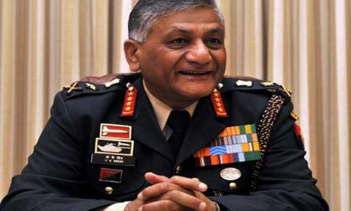 reports of suspicious movement of army units fable v k singh