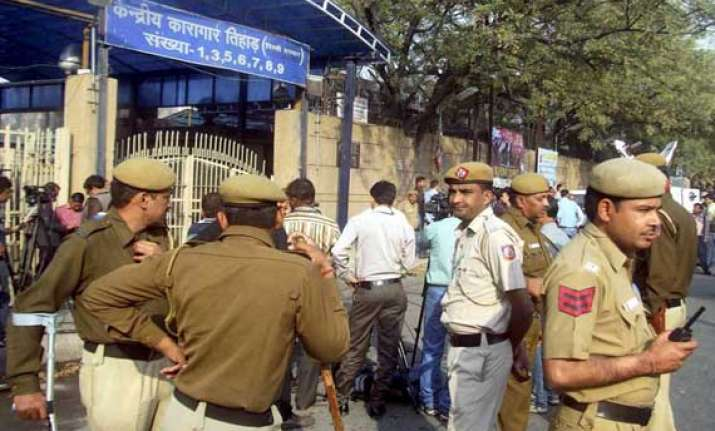 restrictions imposed outside tihar jail