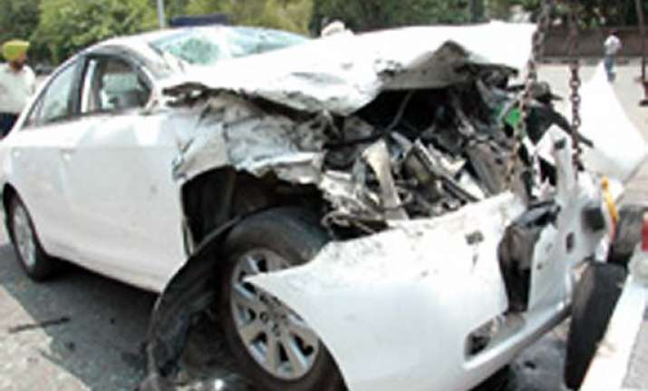 retd ias officer killed in collision with car coming in