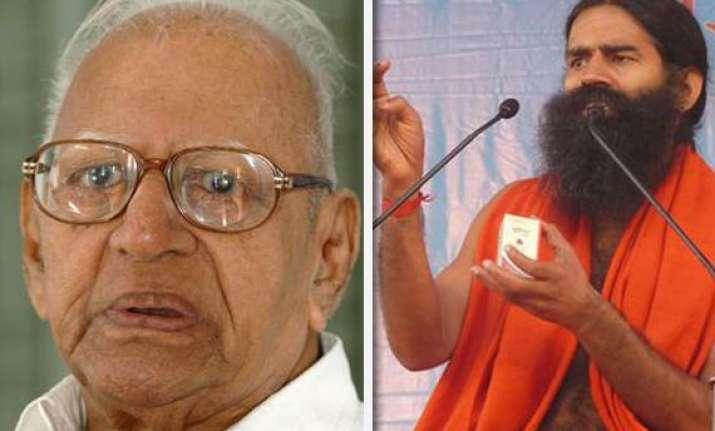 retired justice krishna iyer lambasts swami ramdev