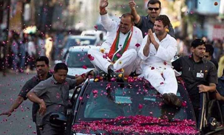 returning the compliment rahul roadshow in varanasi on may