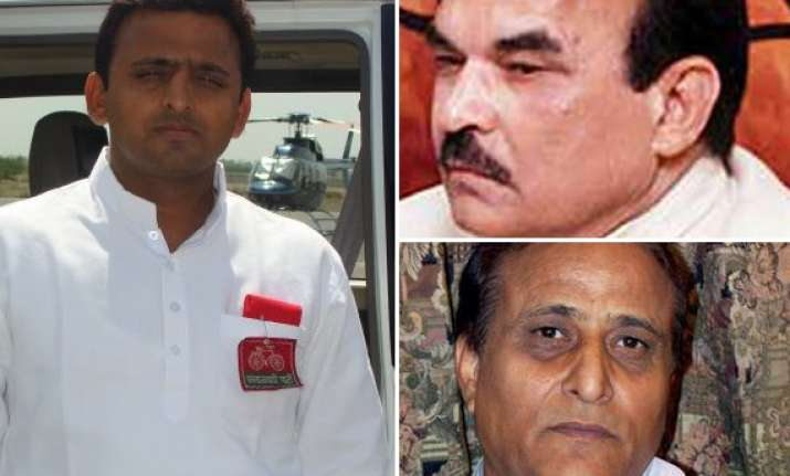 rift in sp as mulayam s son opposes d p yadav s entry