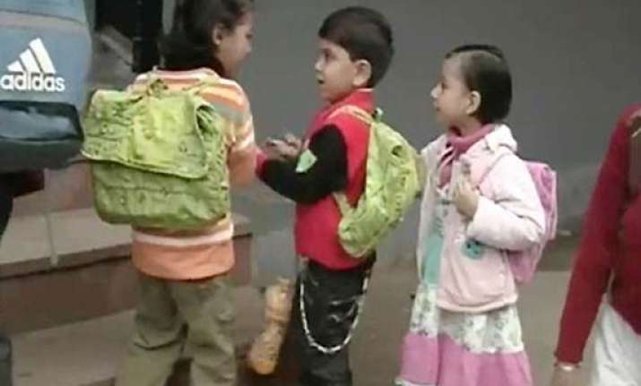 nursery admissions in delhi schools will remain unaffected