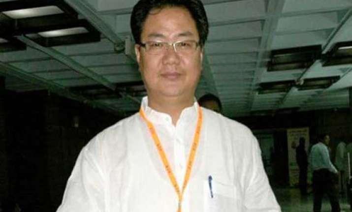 rijiju appeals to ne militants to join mainstream