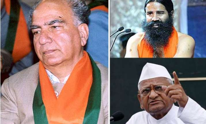 rise of hazare ramdev a failure of political parties says