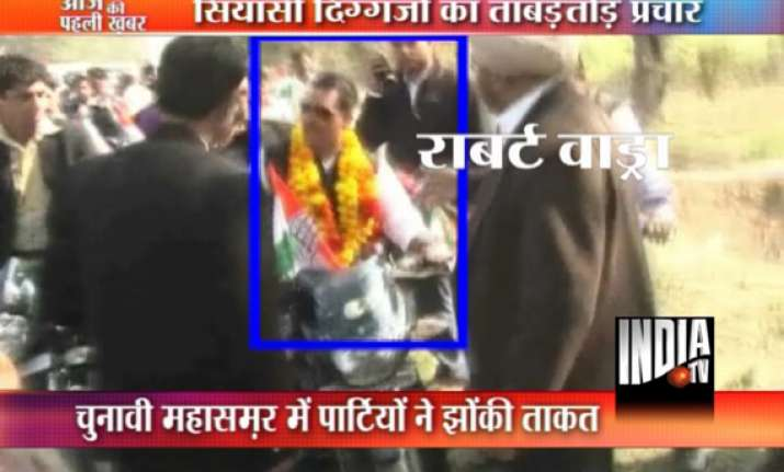 robert vadra s bike rally in up stopped poll observer