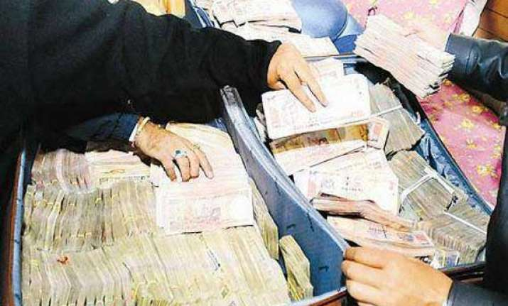 rs.152 crore seized in andhra pradesh