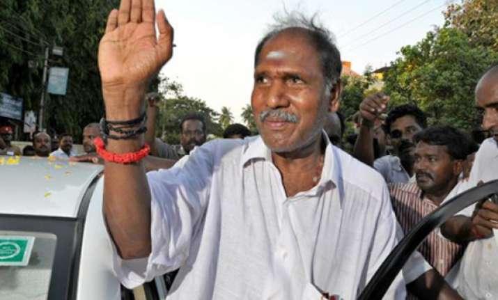 ruling puducherry party ainrc retains indira nagar seat