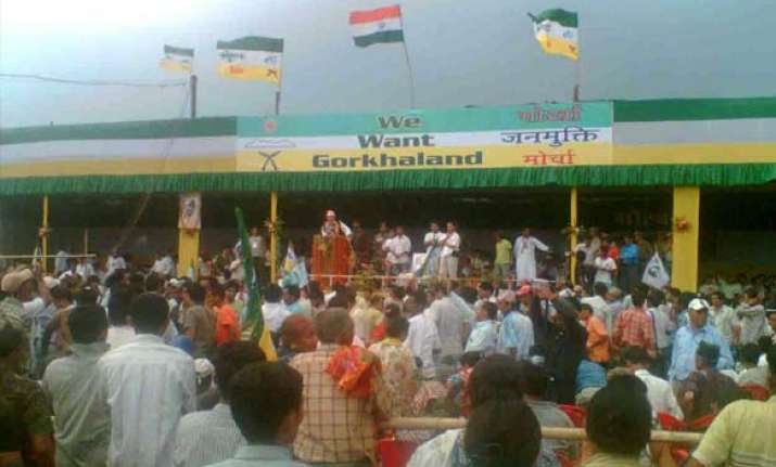 rumblings about gorkhaland in darjeeling again