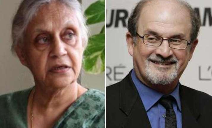 rushdie is welcome in delhi says sheila dikshit