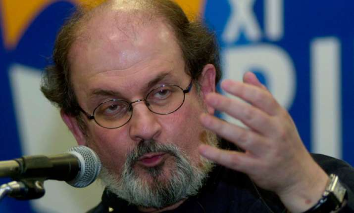 rushdie steals oprah thunder on day 3