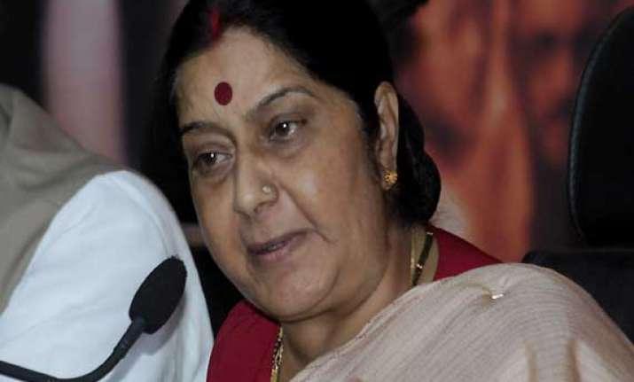 russian deputy pm holds talks with swaraj