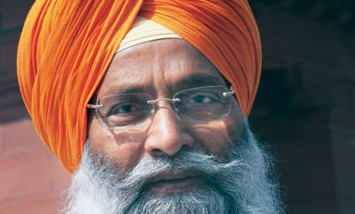 sad candidate dhindsa files nomination from sangrur