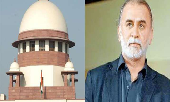 sc grants interim bail to tarun tejpal