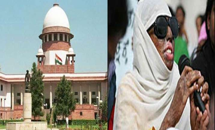 sc questions centre states on rising acid attacks victims