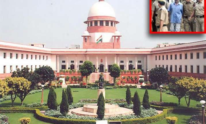 sc suspends death sentence of red fort shootout convict