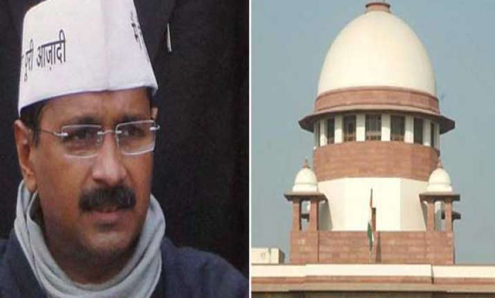 sc to hear aap plea against imposition of president rule on